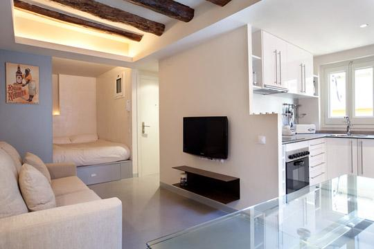 Gothic Studio 5 ** Cocoon Modern  (BARCELONA) - Image 1 - Barcelona - rentals