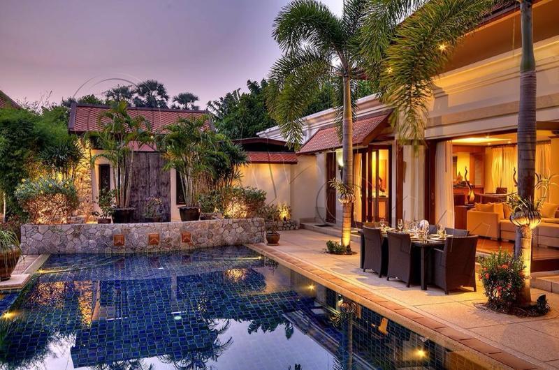 Sunset - Villa Apsara - Bang Tao Beach - rentals