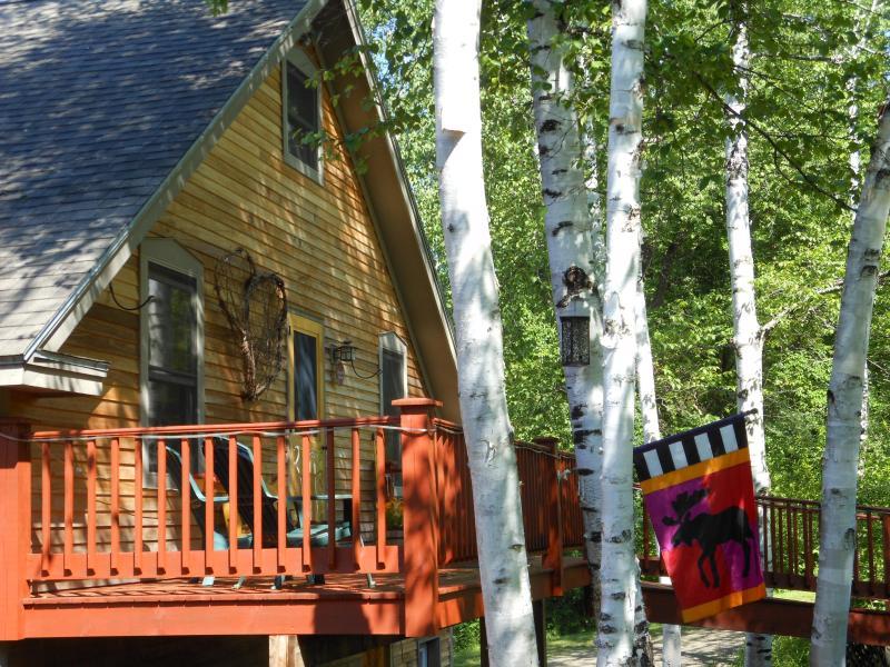 Summer time at the cottage 2012 - White Birch Cottage (Sugarbush,Madriver,Stowe) - Duxbury - rentals