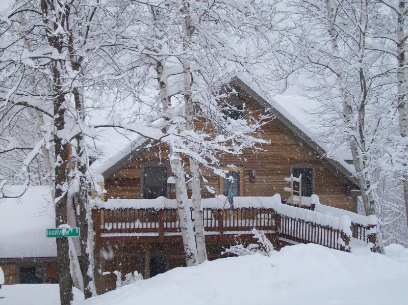 Winter at the cottage! - White Birch Cottage (Sugarbush,Madriver,Stowe) - Duxbury - rentals