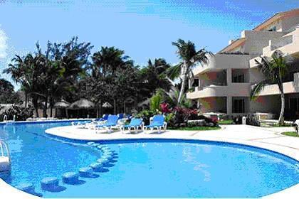 Poolside - Fantastic H20-Front Condo__Upscale, Private Resort - Puerto Aventuras - rentals