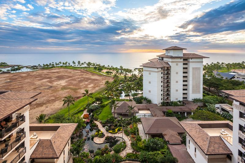 Spectacular View from the Lanai - Ko Olina Beach Villa OT1404 Penthouse Full Ocean - Kapolei - rentals