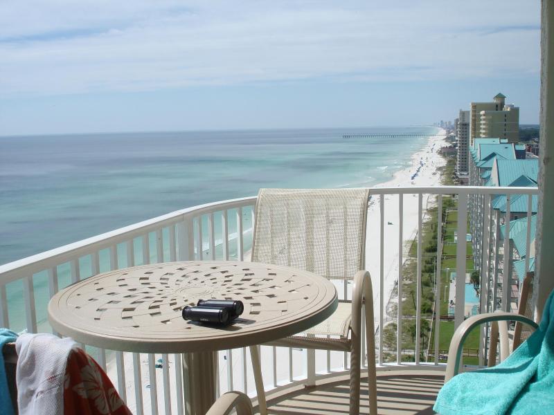 balcony - 3 bed3 bath remodeled Corner Unit Incredible Views - Panama City Beach - rentals