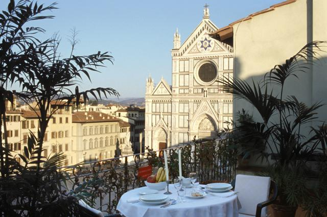 The Terrace in the Mimi Suite at the Palazzo Antellesi - Palazzo Antellesi - Apt.  MIMI - Florence - rentals