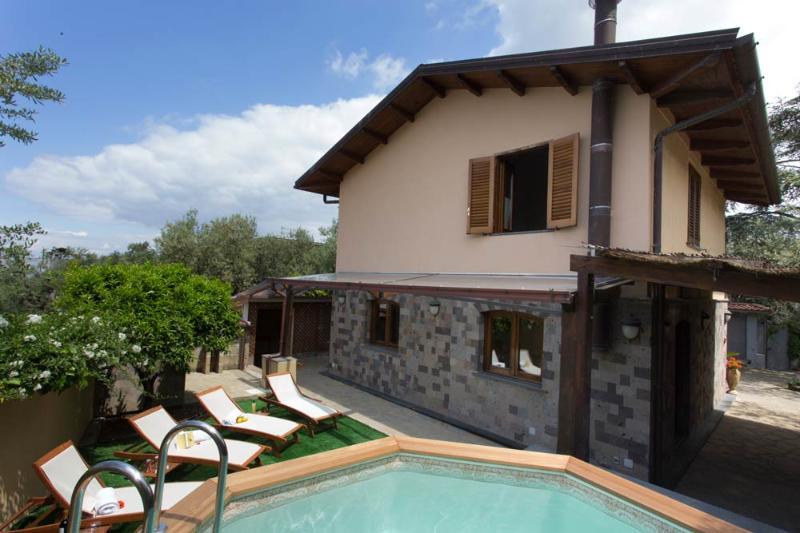 Sea View Villa with Private Swimming Pool - Image 1 - Sorrento - rentals