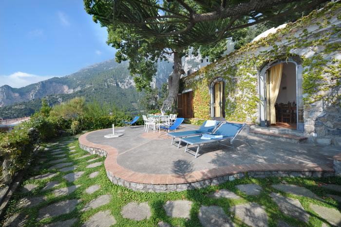 Sea-view terrace - V428 - Private Jacuzzi pool and sea view terraces - Nocelle di Positano - rentals