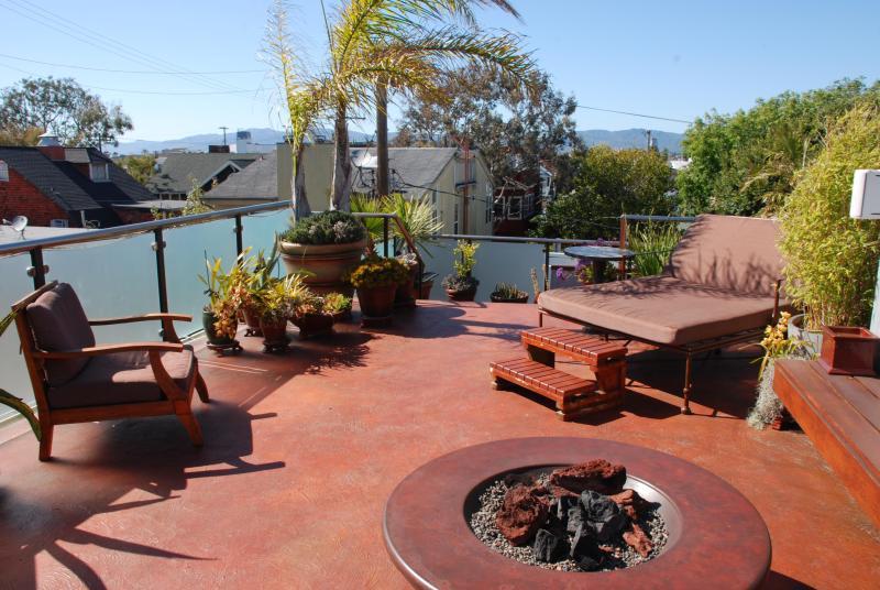 roof deck - 115 Brooks - Los Angeles - rentals