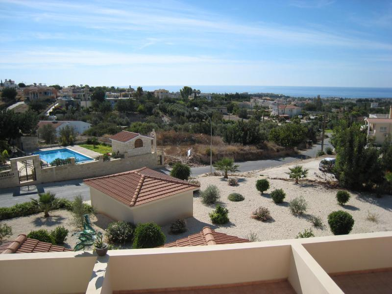 View from Balcony - 2 Bed Apartment Fantastic Seaview in Peyia/Pegia - Peyia - rentals