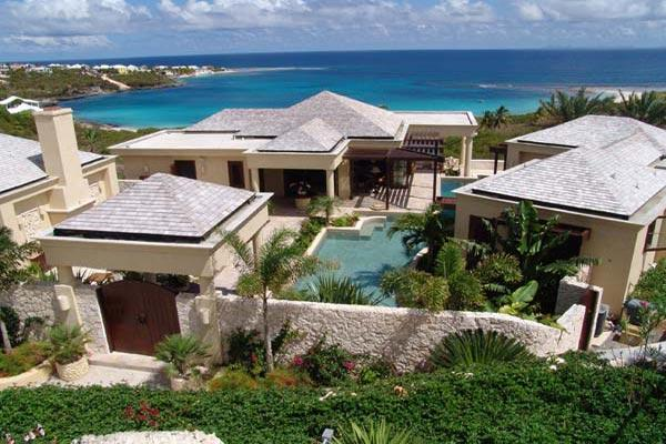 Positioned on a slight hill, overlooking Sandy Hill Bay. MD BOP - Image 1 - Anguilla - rentals