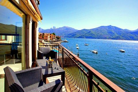 Take in that view from your private balcony - Champarn Apartment Menaggio - Menaggio - rentals
