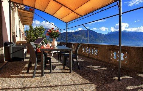 Relax on the covered lake view, lake front terrace! - Menaggio Veccia Lake Home (no car required) - Menaggio - rentals