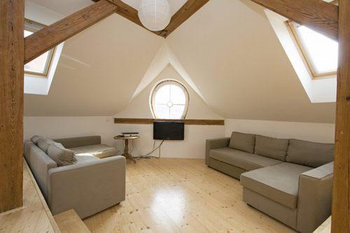 Living room - Prague-Best Location-Super-Classy 2BR-Historic Ctr - Prague - rentals