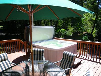 Glen Tara, Spa and Outdoor Dining on Austin Creek CA - Glen Tara - Cazadero - rentals