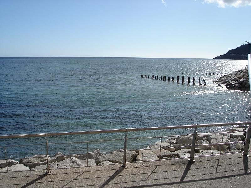 View from the terrace - a great way ro relax - B2 Waterfoot Seafront Apt  Newcastle - Newcastle - rentals