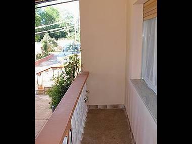 Antonela(6): terrace - 2701 Antonela(6) - Privlaka - Privlaka - rentals