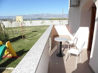 A1(4+3): terrace - 2702 A1(4+3) - Privlaka - Privlaka - rentals