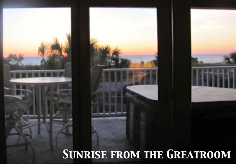 Amazing Sunrises - Luxury Ocean Front Condo-Jacuzzi, Deck, Great View - Tybee Island - rentals