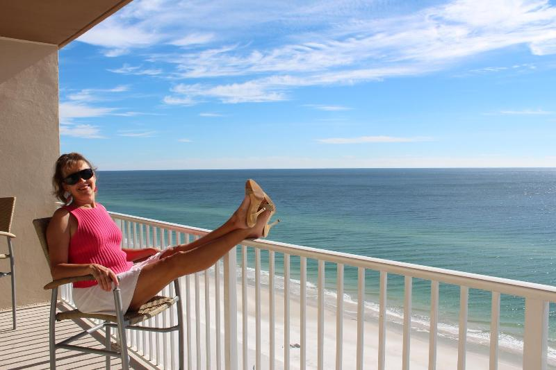 This could be you relaxing on the balcony! - 25% Off Spring Break Rates - Gulf Shores - rentals
