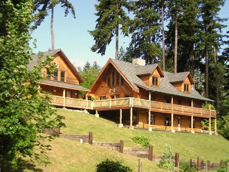 View of Bayview Retreat From Lower Yard - Bayview Retreat - Vashon Island, Washington - Vashon - rentals