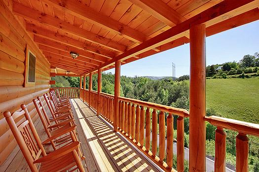 Brand New! Stress Relief Log Cabin - 3 Bd, 4 Bath - Image 1 - Pigeon Forge - rentals