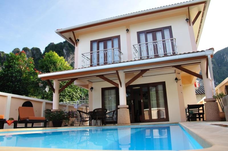 Krabi Ao Nang Villa - Sankar Private Pool House walk to the Beach - Ao Nang - rentals