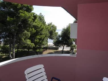 A20(2+2): terrace view - 2710 A20(2+2) - Vir - Vir - rentals