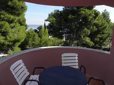 A21(2+2): terrace - 2710 A21(2+2) - Vir - Vir - rentals