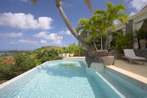 Spectacular villa offering views of the lagoon's ever-changing hues of blue WV BLA - Image 1 - Saint Barthelemy - rentals