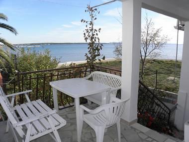 A2 bijeli(4): terrace - 2712 A2 bijeli(4) - Privlaka - Privlaka - rentals