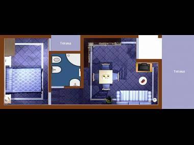 A4(2+2): floor plan - 2713 A4(2+2) - Vir - Vir - rentals