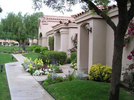 Front Entrance - Palm Valley CC Beauty ! Golf, Tennis, Spa, Shop ! - Palm Desert - rentals