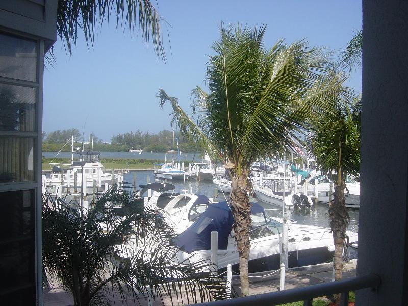 Harborfront condo...view from lanai - Location, Location Harborfront ..1BDR.  Pool&Beach - Englewood - rentals