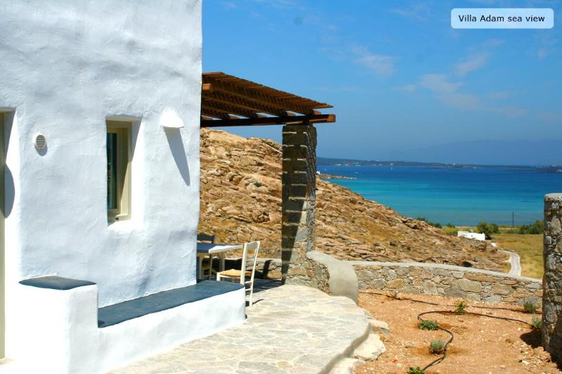 Villa adam overlooking kolimbithres bay - Villa Adam- Peaceful traditional greek house - Naoussa - rentals