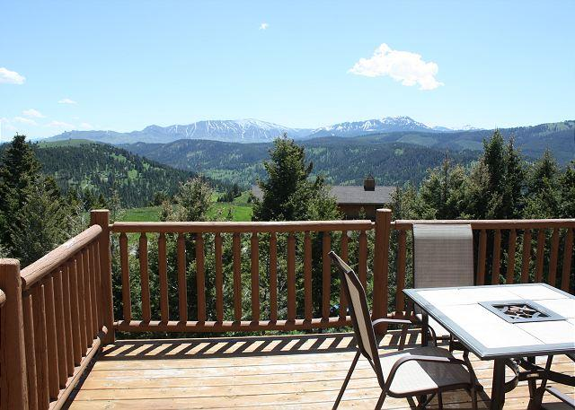 Amazing views from the home and deck - Lookdown - Bozeman - rentals