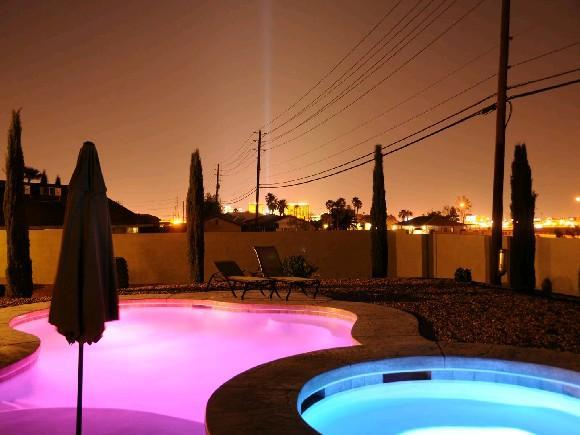 Pool & Spa - 777RENTALS - South Strip Estate  - Casita, Pool - Las Vegas - rentals