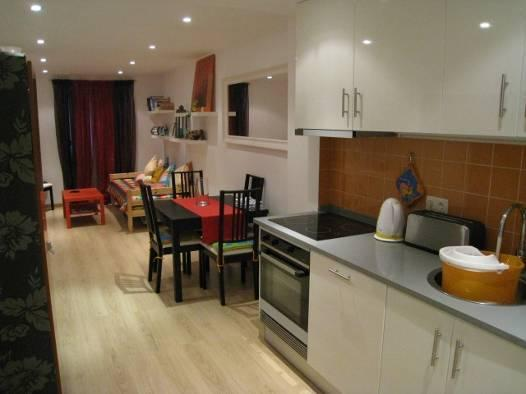 Kitchen and living room - Central Lisbon near Castle Saint George - Lisbon - rentals