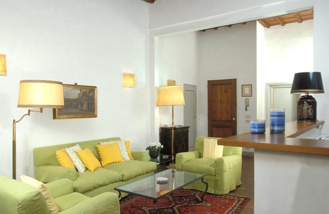 Living Room in the David Suite at the Palazzo Antellesi - Palazzo Antellesi - Apt.  DAVID - Florence - rentals
