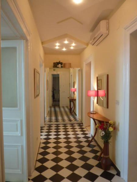 The Magnificent Hallway of this Austro-Hungarian Classic - Luxury Ground Floor Beachfront near Old Dubrovnik - Dubrovnik - rentals