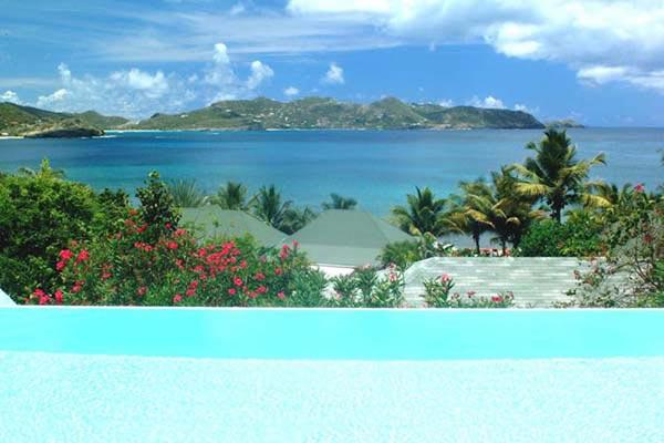 Clean & Comfortable with sunset views over St. Barts WV JCC - Image 1 - Pointe Milou - rentals