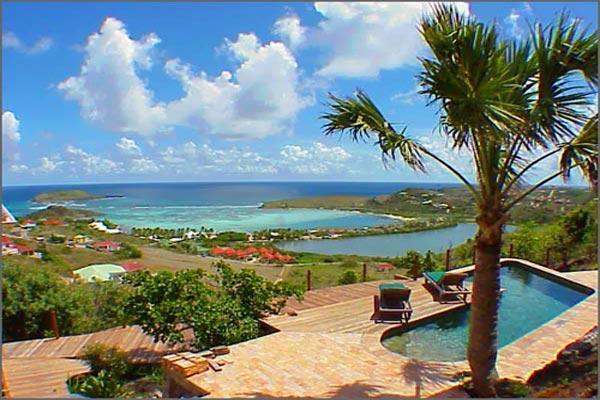 Attractive South American style villa with views over Grand de Sac WV KDY - Image 1 - Marigot - rentals