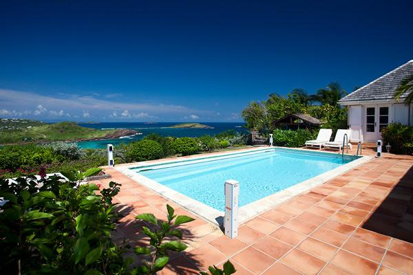 Elegant furnishings, pool, great for families or group of friends WV ROC - Image 1 - Saint Barthelemy - rentals