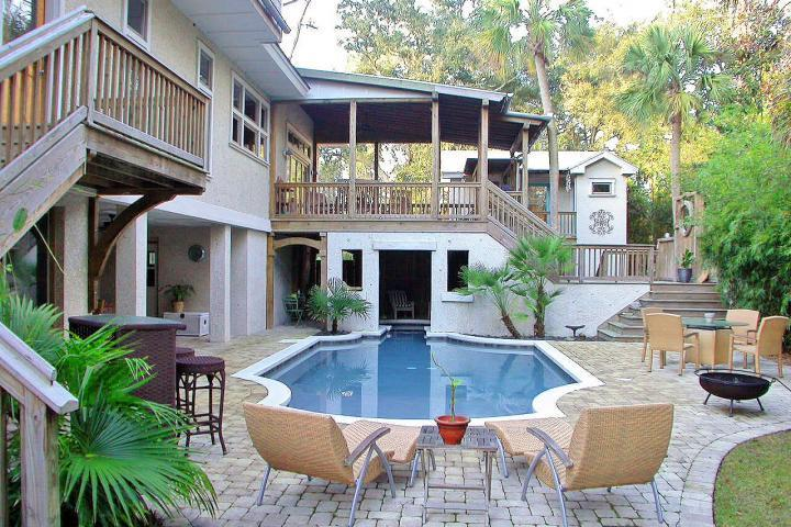 The Best Backyard - Most INCREDIBLE Beach Home-7BR/5.5-2014 FILLING UP - Hilton Head - rentals