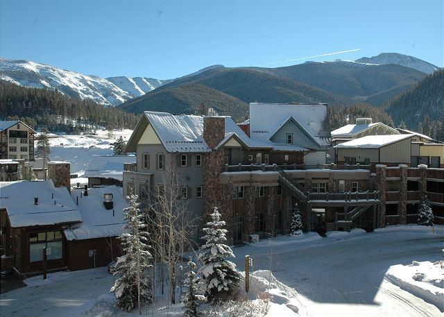What a view from the balcony!!! - Ski in Ski out slopeside two bedroom at the Zephyr Mountain Lodge. Sleeps 8!! - Winter Park - rentals