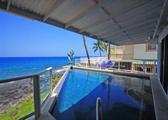 Hale Kipa - Ocean Front Dream Home. Rent Either as a 3/3 OR a 5/4! - Image 1 - Kailua-Kona - rentals