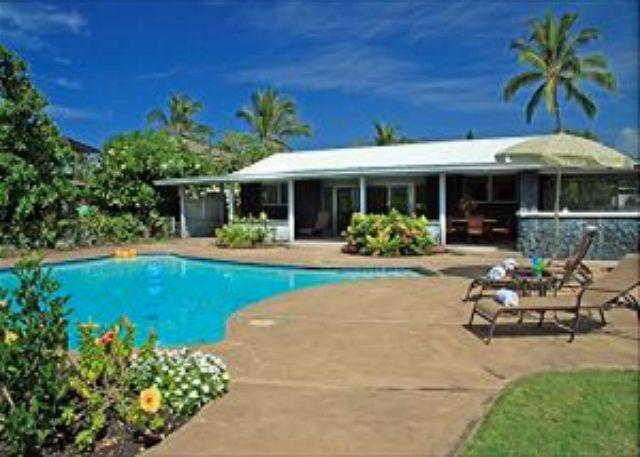 Pahukoa Hale - Direct Ocean Front Hawaiian Style home in Kona Bay Estates - Image 1 - Kailua-Kona - rentals