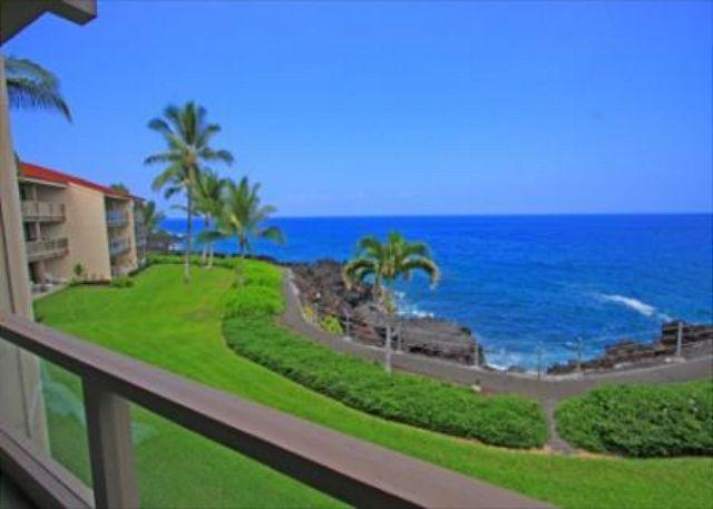 KKSR3202 DIRECT OCEANFRONT, Spacious, 2nd Flr - Image 1 - Kailua-Kona - rentals