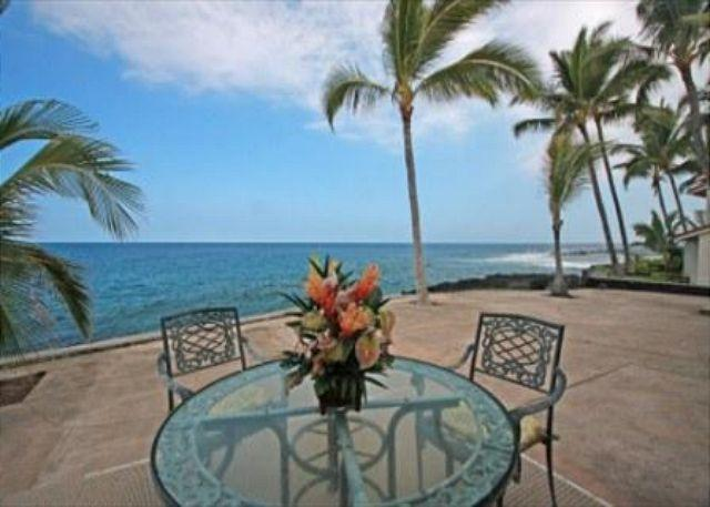 Lanai View - KKSR 185 DIRECT OCEANFRONT TOWNHOME, Wifi, A True Gem - Kailua-Kona - rentals