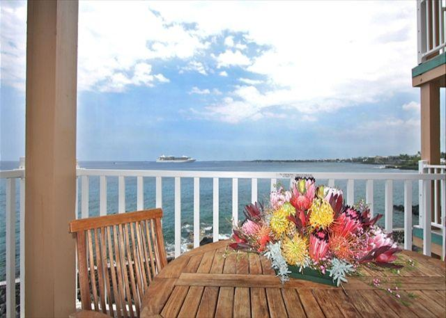 $119.00 special April 10th-May 23rd 2 BEDROOM DIRECT OCEANFRONT!!! - Image 1 - Kailua-Kona - rentals