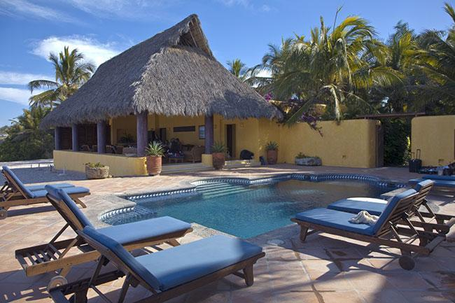 Residents Beach Club Restaurant and Pool - Casa Joya Del Mar Punta Mita - Sayulita - rentals