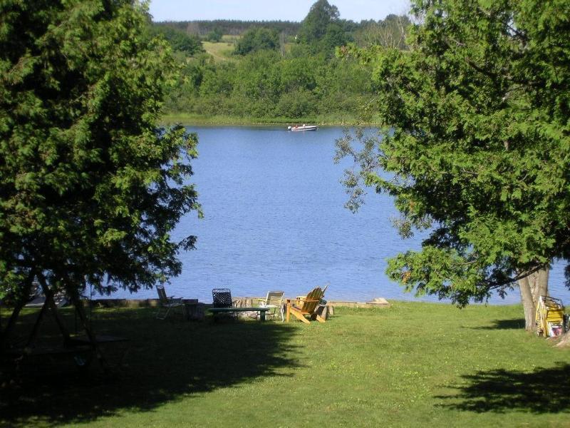A quiet summer's day at Cedars Resort - Cedars Resort - Lakeside log cabin in Michigan - Central Lake - rentals